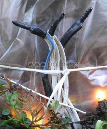 Труд и материали за свързване на маркучи и термостат